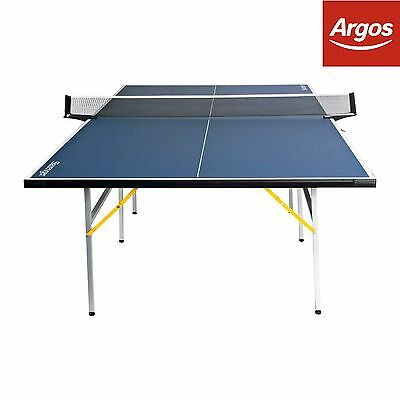 Slazenger 9ft Indoor Table Tennis Table - Blue. From the Argos Shop on ebay