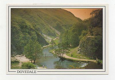 #X7 - Dovedale, The Stepping Stones 1980 Postcard