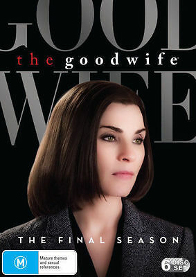 The Good Wife: Season 7 (DVD, 2016, 6-Disc Set), NEW SEALED REGION 4
