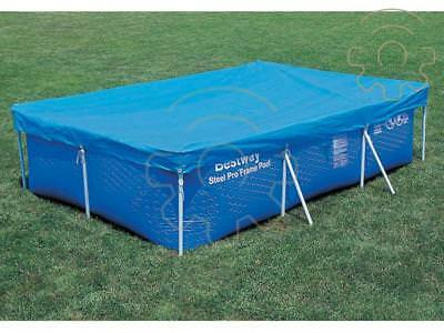 top canvas coverage swimming pool cover for with frame rectangular 7