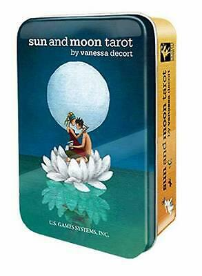 Sun and Moon Tarot in a Tin by Vanessa Decort Free Shipping!