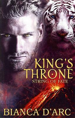 King's Throne by Bianca D'Arc (English) Paperback Book