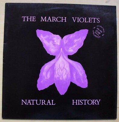 March Violets Natural History Lp 1984 With Fold Out Insert Uk