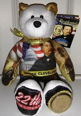 Grover Cleveland 1st Term Dollar Coin bear #22 in series by Limited Treasures