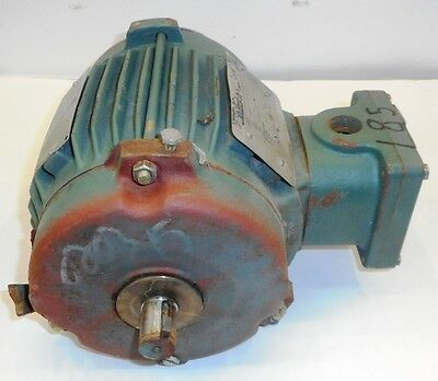 Toshiba 3 Phase Induction Motor, Model By154Ylf2Amh, 1.5 Hp
