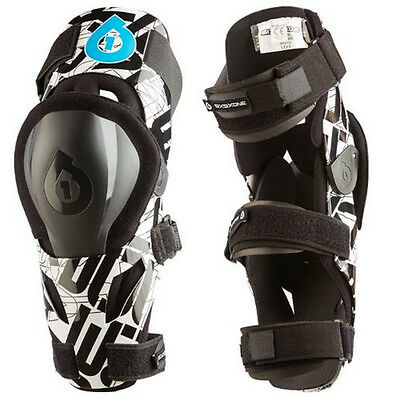 661 SIXSIXONE EVO MOTOCROSS MX KNEE BRACES supports pads protectors enduro bike