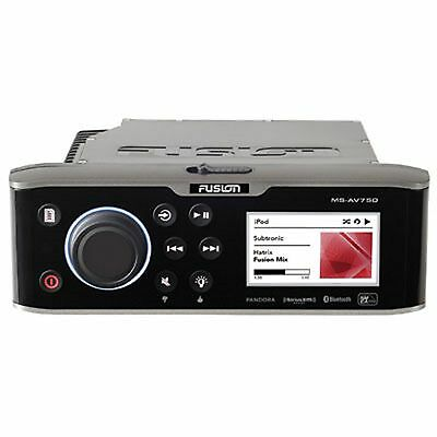 Fusion Marine Stereo MS-AV750 AM / FM / CD / DVD / Bluetooth / USB / AUX x 2 / i