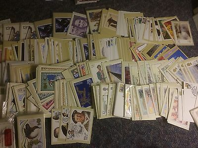 STAMPS SELECTION No2 PHQ POSTCARDS HUGE AMOUNT ALL IN SCANS BUY IT NOW