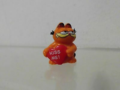 Garfield Bully Figur W.Germany Mini ca. 3,0 cm: mit Herz Kiss me