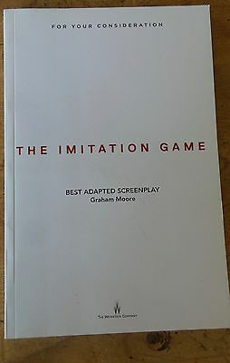 THE IMITATION GAME FYC For Your Consideration screenplay script