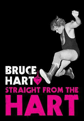 Straight from the Hart by Bruce Hart (English) Paperback Book Free Shipping!