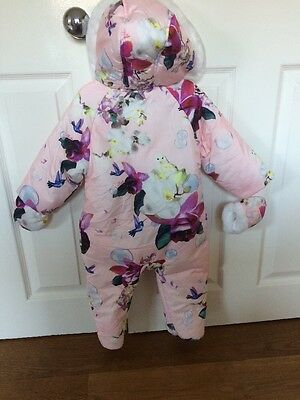 Ted Baker Baby girl snowsuit 6-9 Months Brand New With Tags