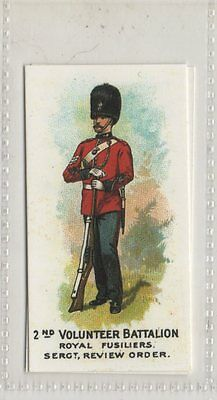 2nd Volunteer Battalion Royal Fusili - Types Of Volunteers & Yeomanry Repro Card