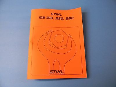 REPAIR SERVICE MANUAL FOR  STIHL CHAINSAW MS311 AND MS391 ------------ MAN67