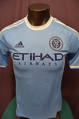 on sale e56b2 d32a7 adidas MLS Mens New York City F.C. Authentic Soccer Jersey NWT  120 S, M