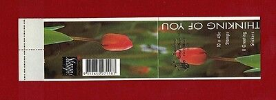 1994 Australia Thinking of you booklet Canberra overprint SG SB 84