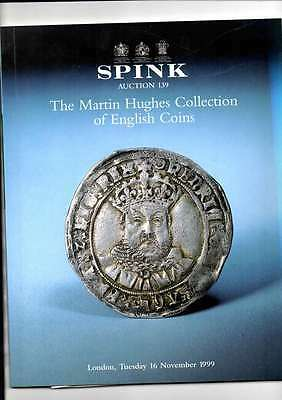 Spink Auction Catalogue Nov 1999 The Martin Hughes Collection Of English Coins