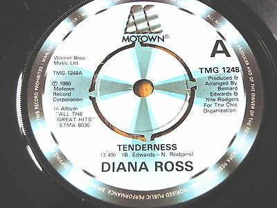 "Diana Ross - Tenderness  7"" Vinyl"