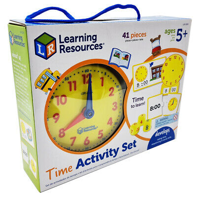 Learning Resources Learning Essentials Time Activity Set NEW