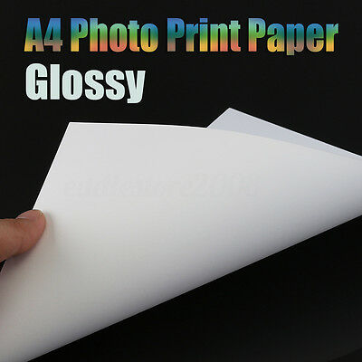 20PCS A4 Inkjet Photo Print Paper Light Water Transfer Paper Cup Decal Craft