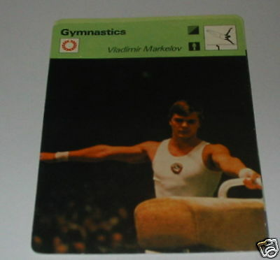 Gymnastics - Vladimir Markelov SC Collector card
