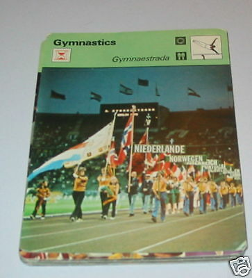 Gymnastics - Gymnaestrada SC Collector card