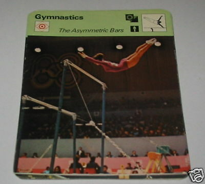 Gymnastics - The Asymmetric Bars SC Collector card