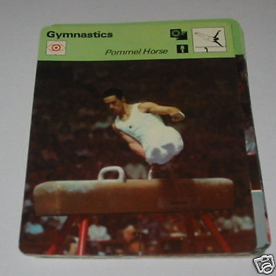 Gymnastics - Pommel horse SC Collector card