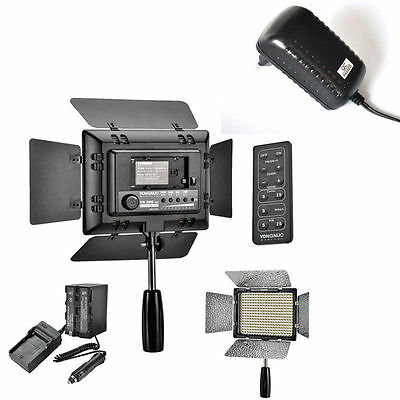 Yongnuo YN-300 II LED Video Light Lamp Camera Camcorder for Canon Nikon +Battery