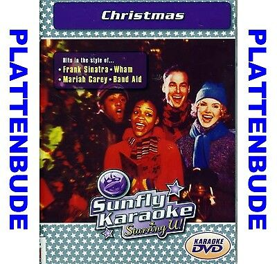 KARAOKE DVD Weihnachten: CHRISTMAS ua. WHAM Last Christmas * SINATRA Let it snow