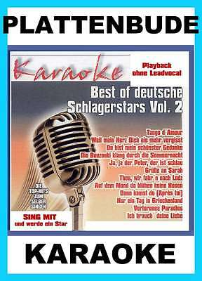 KARAOKE CD * VICKY LEANDROS - Best of deutsche Schlagerstars Vol.2 ua. THEO *NEU