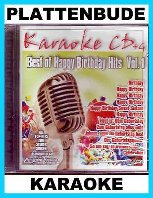 KARAOKE CD + G * Best of Happy Birthday Hits ua BEATLES * PAUL ANKA * TRUCK STOP
