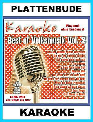 KARAOKE CD * Best of Volksmusik Vol.2 ua. PALDAUER * ANDREA BERG * NEU/OVP