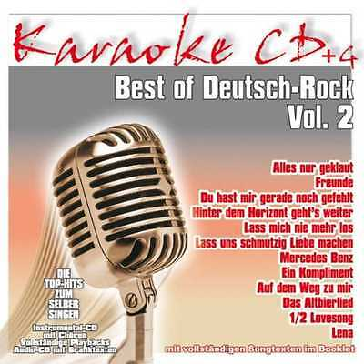 KARAOKE CD * BEST OF DEUTSCH-ROCK Vol.2 ua. PUR * ÄRZTE * TOTEN HOSEN * PRINZEN