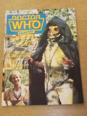 Doctor Who #65 1982 Jun British Weekly Monthly Magazine Dr Who Dalek Cybermen