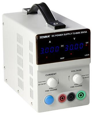 Tenma - 72-2685 - Single Output Dc Bench Power Supply - 30v, 3a