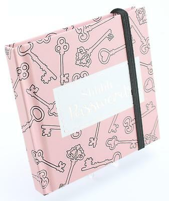 Pink Passwords Notebook by SoulUK