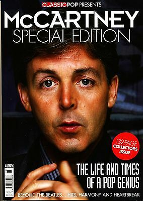 CLASSIC POP PRESENTS PAUL McCARTNEY SPECIAL COLLECTOR'S EDITION MAGAZINE...NEW