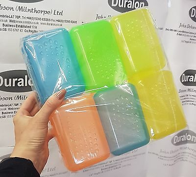 Bathroom Travel Hiking Soap Saver Storage Dish Plastic Box Container Pack Of 12