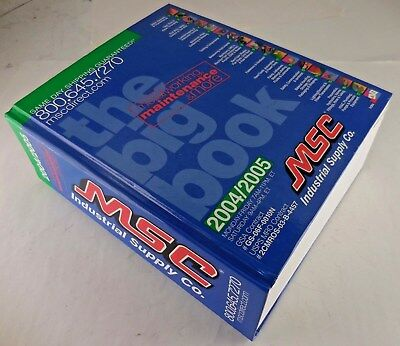 MSC Industrial Supply Catalog The Big Book 2004 / 2005 #6ws