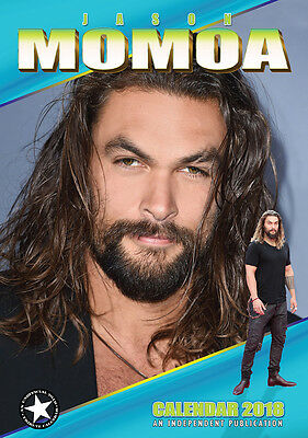Jason Momoa   Kalender 2018 (Dream) Neu