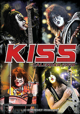 Kiss   Kalender 2018 (Dream) Neu