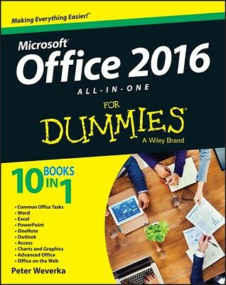 Office 2016 All-in-One For Dummies (Office All-in-One for Dummies. 9781119083122