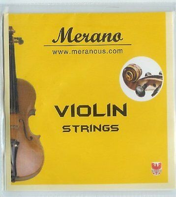 1/2 to 1/4 Size Replacement Violin String Set for Excellent Sound for Beginners