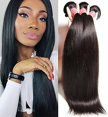 Malaysian Virgin Straight Hair by Beauty Forever - Durable Unprocessed 3 Bundles