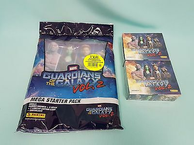 Panini Guardians of the Galaxy Vol. 2 Starterpack +  2 x Display Trading Cards