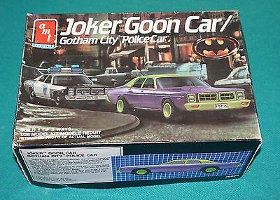 Joker Goon Car Gotham Police Car AMT 1/25 Complete & Unstarted.