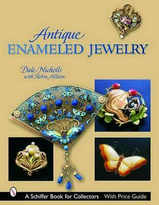 Antique Enameled Jewelry by Dale Reeves Nicholls (English) Hardcover Book Free S