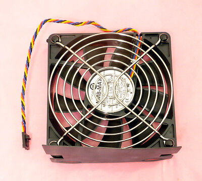 Dell Precision T5400 Hard Drive HDD Bay Cooling Fan Assembly NT747 KP847 Tested!