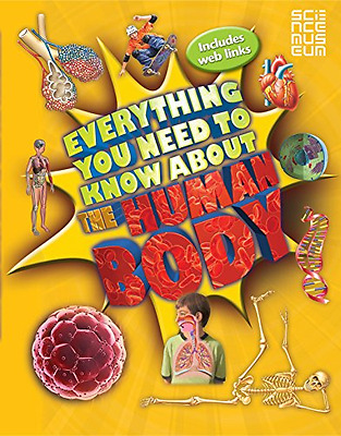 Everything You Need To Know About The Human Body - Paperback NEW Patricia Macnai